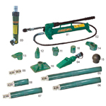 10 TON HEAVY DUTY COLLISION REPAIR KITS, TWO SPEED PUMP (DROP FORGET)